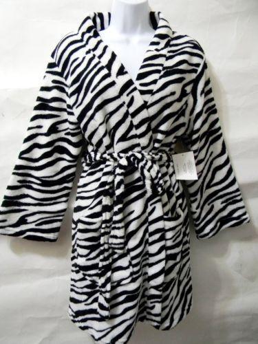 Zebra Robe Ebay