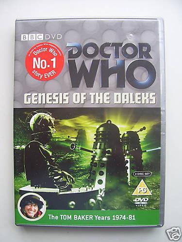 Doctor Who - The Genesis Of The Daleks (DVD, 2006, 2-Disc Set) - Tom Baker
