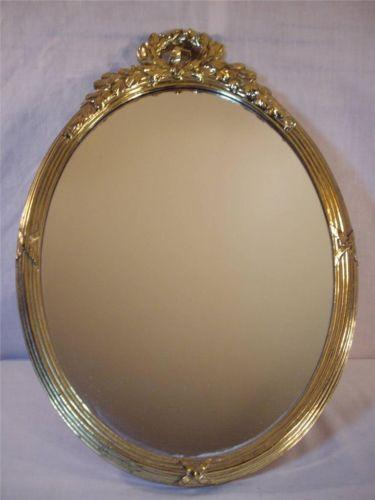 Vintage Oval Wall Mirror Ebay