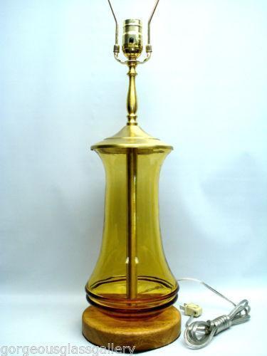 Blenko Lamp Ebay
