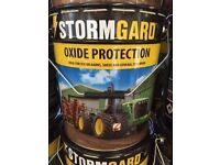 STORMGARD, BARN, SHED. Paint, 19/ 20 litres, cedar red.