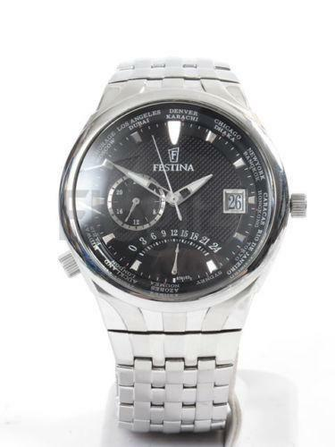 mens wrist watches world time ebay