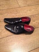 Mens Black Shoes Size 8