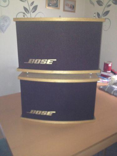bose stereo lautsprecher ebay. Black Bedroom Furniture Sets. Home Design Ideas