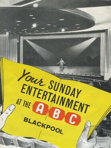 BEATLES 1963 UK Tour Concert Program Tour Book BLACKPOOL ABC