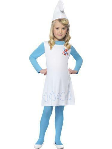 Girls Smurf Costume  1acefea19