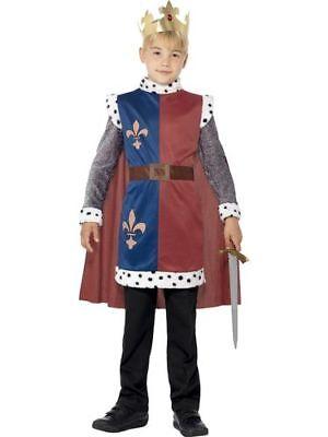 Kinderoutfit König Arthur Kostüm Kind Königskostüm King Fasching - King Arthur Kostüm