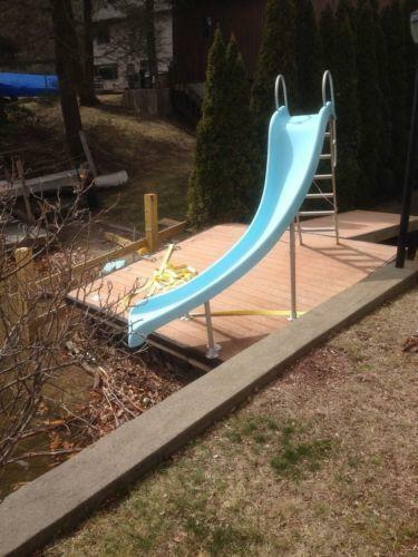 Swimming pool slide ebay for Swimming pool slides