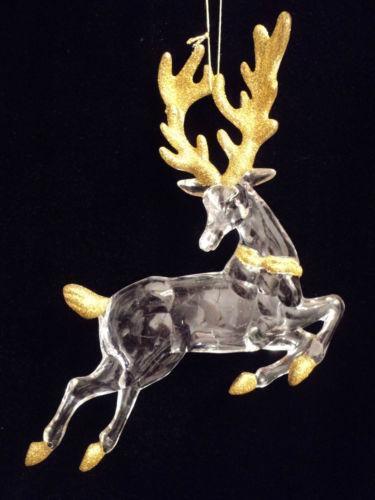 Acrylic Reindeer Ebay