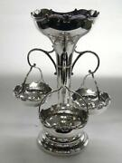 Silver Plated Epergne