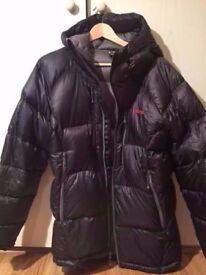 Sherpa Rongbuk down jacket, size M
