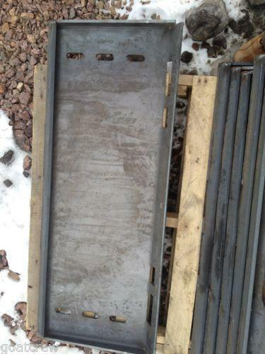 New Holland Ledger Plate : Skid steer quick attach ebay