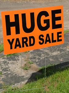 Yard Sale, Garage sale, Moving sale !