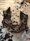 CYDWOQ Brown Boots for Women