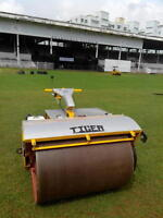 Lawn Rolling Service Smooth And Level That Green Turf Landscape