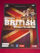 Speedway Programme Grand Prix