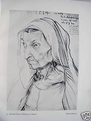 Albrecht Dürer seine fränkische Heimat 1928 Nürnberg