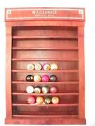 Antique Billiard Ball Rack