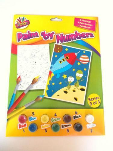 Childrens Paint by Numbers | eBay