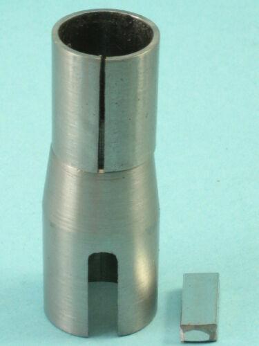 """MTD Tapered Shaft Adapter 3/4"""" ID X 7/8"""" to 1"""" Taper X 2-5/8"""" Long, Key"""
