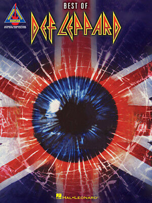 DEF LEPPARD GUITAR TAB / TABLATURE  / ***BRAND NEW*** / BEST OF DEF