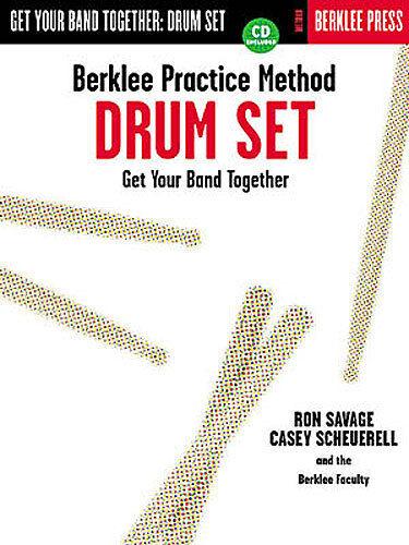 Berklee Practice Method Drum Set Sheet Music + CD *NEW*