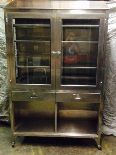 Used stainless steel cabinets ebay for Stainless steel kitchens cabinets