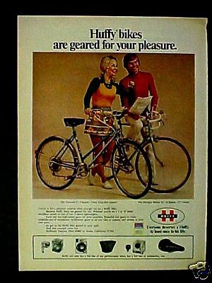 1973 Huffy Olympia~Tourister Bicycle~Bike Photo Print Ad