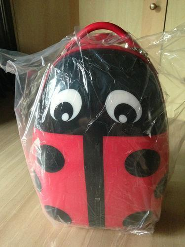 Brand New in Box Lady Bug Children Hard Case Luggage