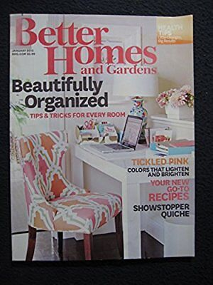 Better Homes and Gardens January 2015 Tips and Tricks for Every