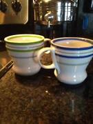 Striped Coffee Mugs
