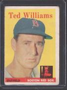 1958 Topps Ted Williams #1