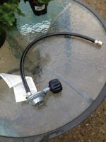 "GLOBAL 5/16 X 23"" LPG VAPOR HOSE & REGULATOR PROPANE - $15.00 OB"