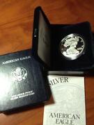 2000 Silver Eagle Proof