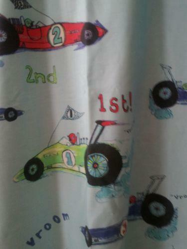 Racing Car Curtains Ebay
