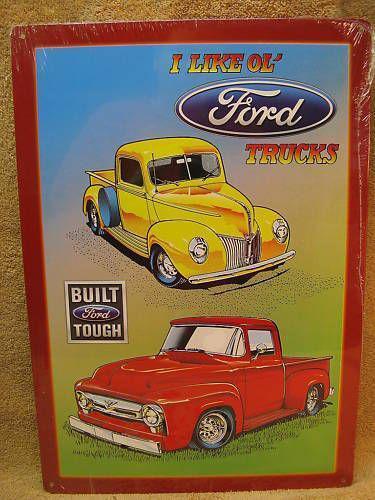 Old Car Signs : Old car signs ebay