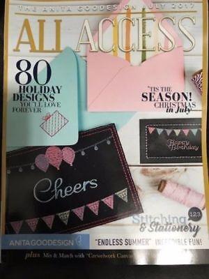 Anita Goodesign ALL ACCESS VIP Club JULY 2017 (CD ONLY)