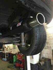 Hornet Racing Exhaust System for Fiesta MK6 1.25i Hatchback