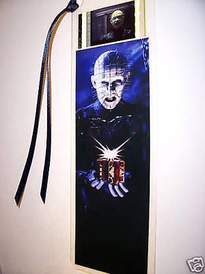 HELLRAISER Pinhead Movie Memorabilia Film Cell Bookmark