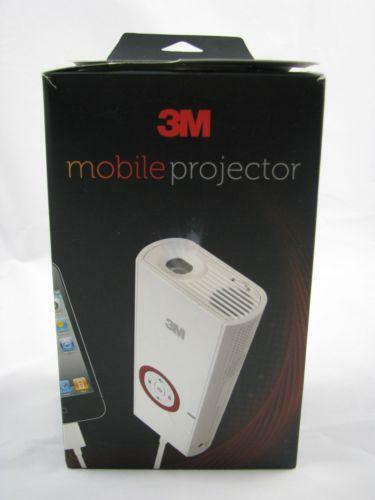 3m mobile projector ebay for Micro projector for ipad