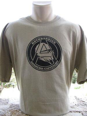 Murray N Rothbard T Shirt Libertarian Anarchist Anarchy