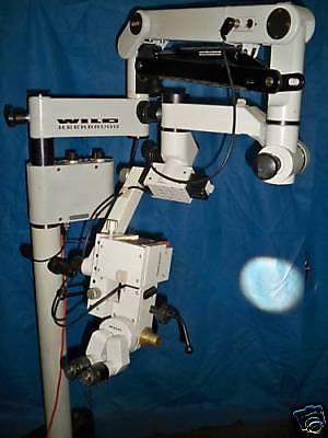 Leica  Wild M655 Surgical  Microscope Ent Dental Microsurgery Warranty