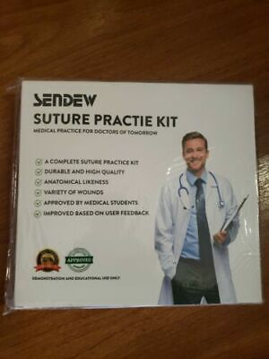 Sendew Suture Practice Kit Medical Practice For The Doctors Of Tomorrow
