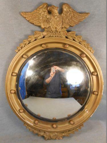 Antique Convex Mirror Ebay