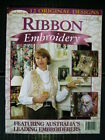 Ribbon Embroidery Patterns & Instructional Media