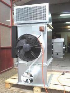 Waste oil heater burner blow air heating 30 kW
