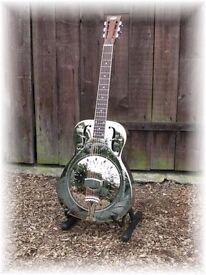 Busker Resonator Guitar - Not National Style O, Mark Knopfler