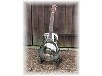 Busker Resonator Guitar - Not National Style O, Mark Knopfler