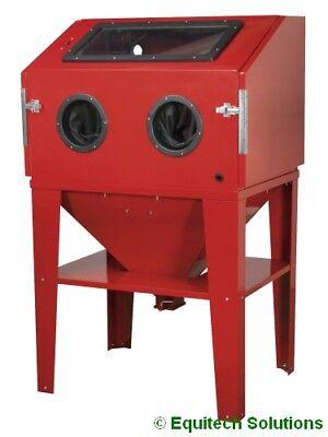 Sealey Tools SB974 Shot Sand Blast Metal Steel Cabinet with Blasting Gun & Stand for sale  Bury St. Edmunds