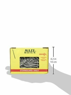 Maze Nails Stormguard Ringed Shank Wood Sidingtrim Nail 1 Lb 1.5 4d - S203-a